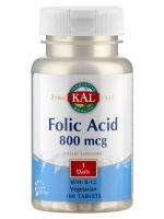 Folsäure 800 mcg + B 12, 100 Tabletten
