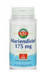 Marien-Distel Milk Thistle Extrakt 175 mg, 50 Kapseln