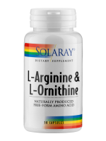 L-Arginin & L-Ornithin 500/250mg, 50 Kapseln